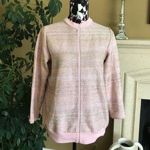 Rare ASHISH beaded pink track jacket